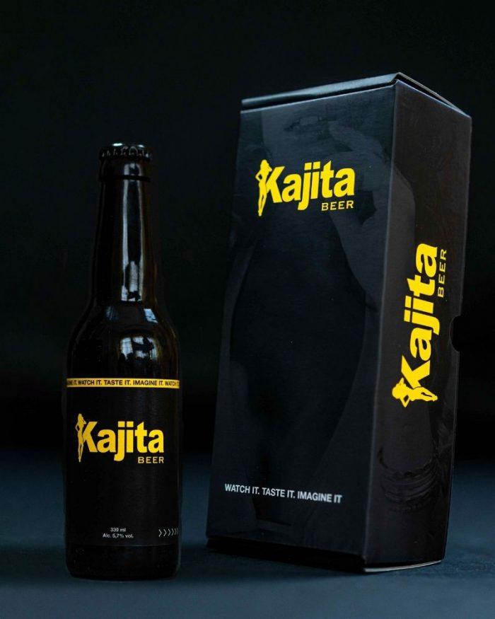 Kajita Beer cadeauverpakking met flesje