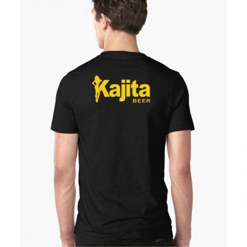 Kajita shirt met logo opdruk