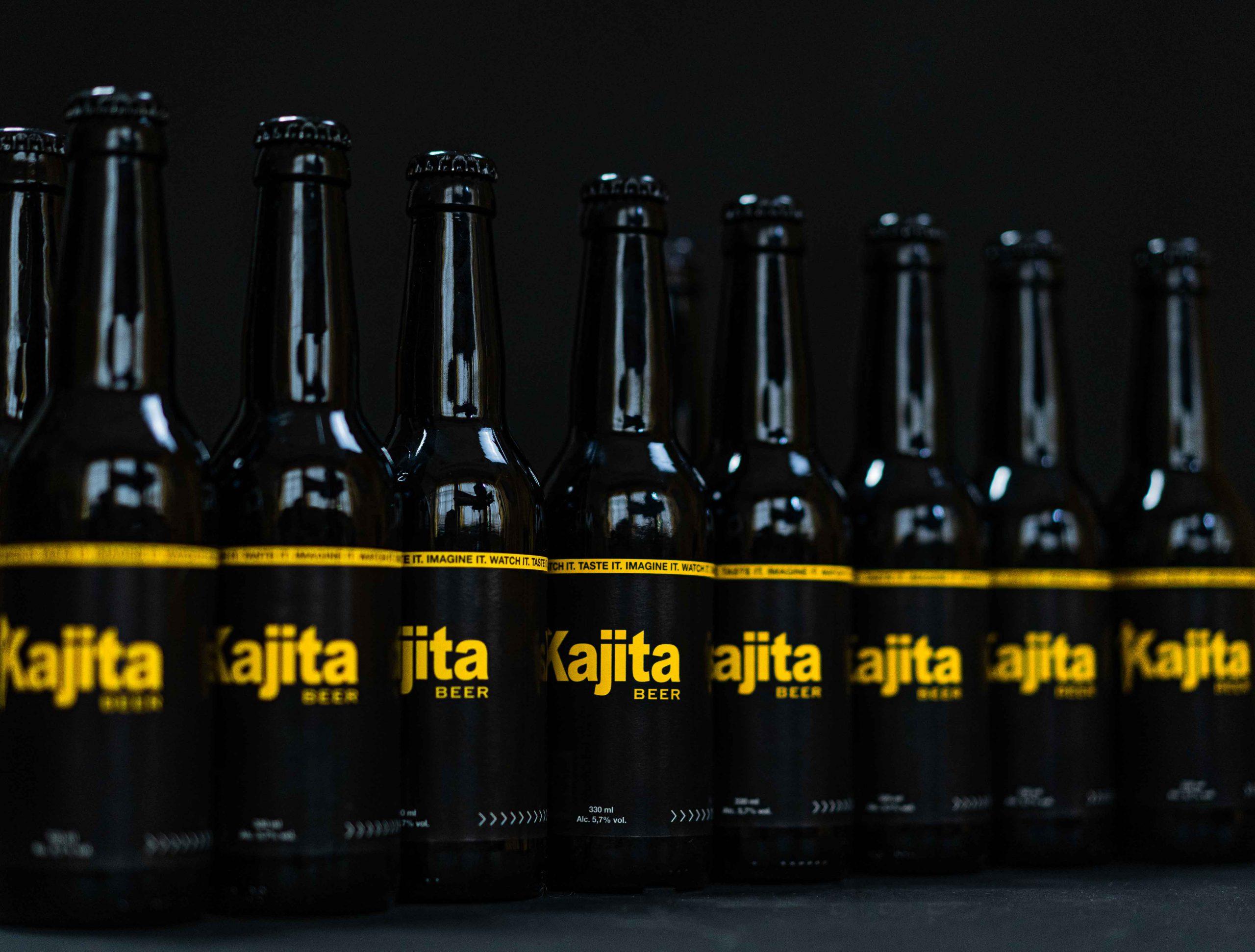 Kajita Beer bottles zwart